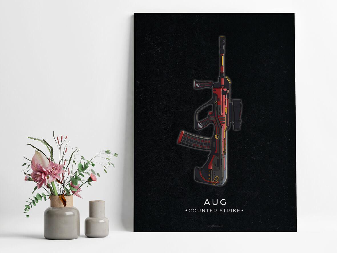 AUG-csgo-poster-2