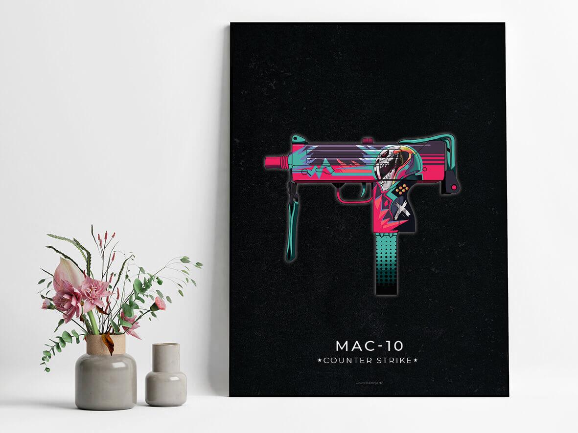 Mac-10-csgo-poster-2