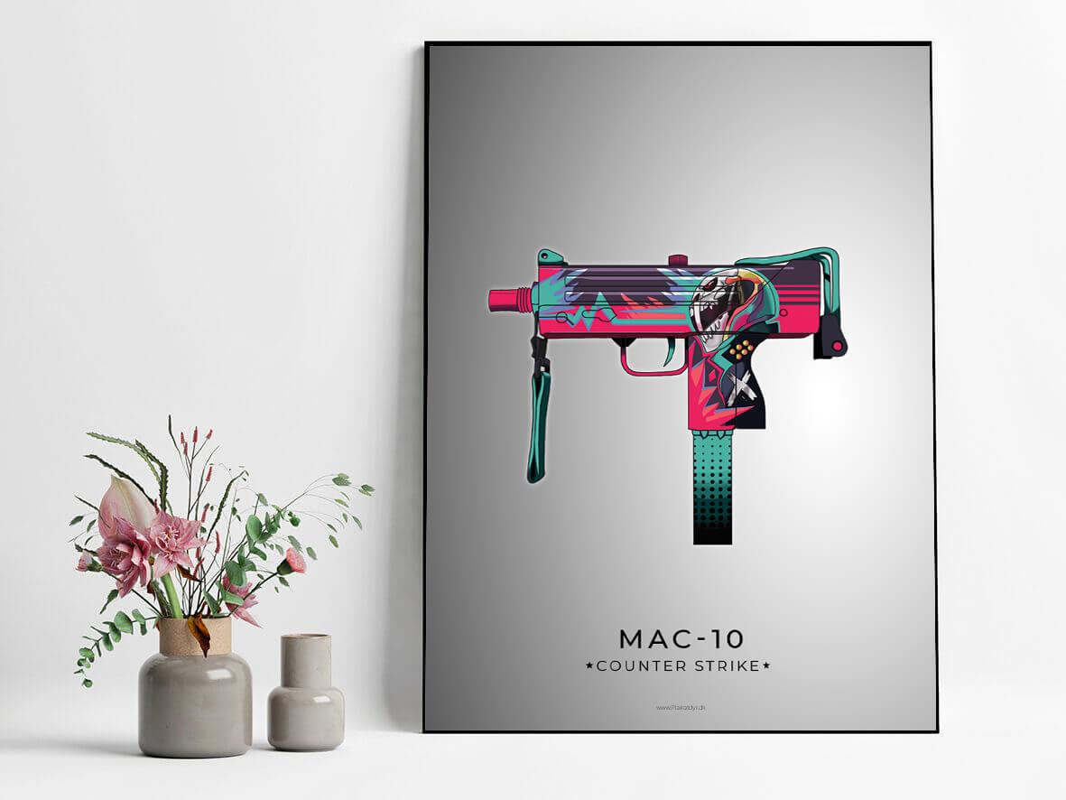 Mac-10-csgo-poster-grey-2