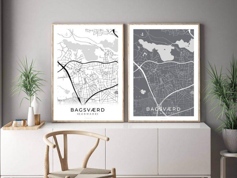 Bagsvaerd-byplakat