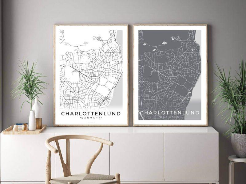 Charlottenlund-byplakat