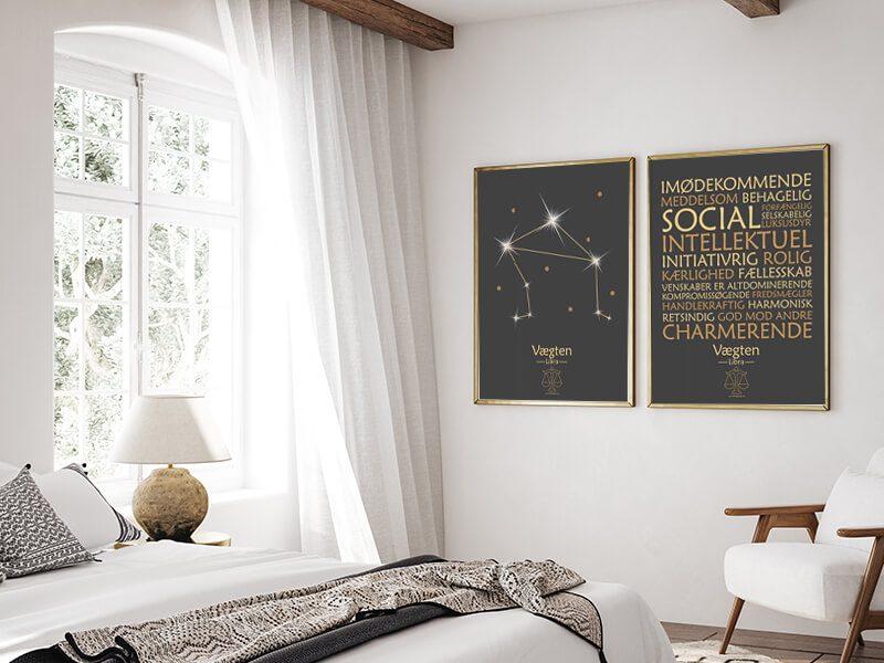 Stjernetegnsplakater-billige